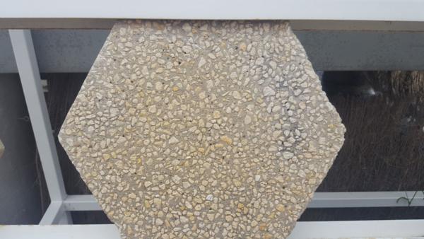 dalle beton désactive