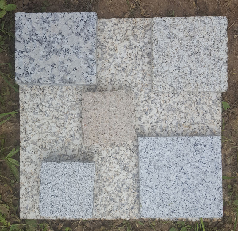 echantillons beton desactivé